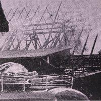 Vor 60 Jahren: Großbrand einer Scheune am 16. März 1961