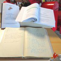 Alte Chronik in neuer Schrift