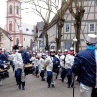 Teilnahme des Musikzugs am Straßenfastnachtsumzug in Gernsheim am 22.02.2020