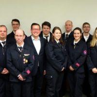 Jahreshauptversammlung der Freiwilligen Feuerwehr Seeheim – Zahl der Einsätze hat sich fast verdoppelt – Wahlen und Ehrungen